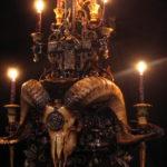 Ram Skull Altar (detail)