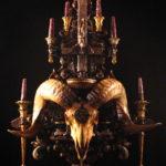 Ram Skull Altar